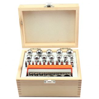 Flat dapping block & 24 dapping punch set by splenortools
