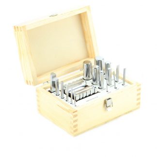 Swage block & 16 swage punch set by splenortools